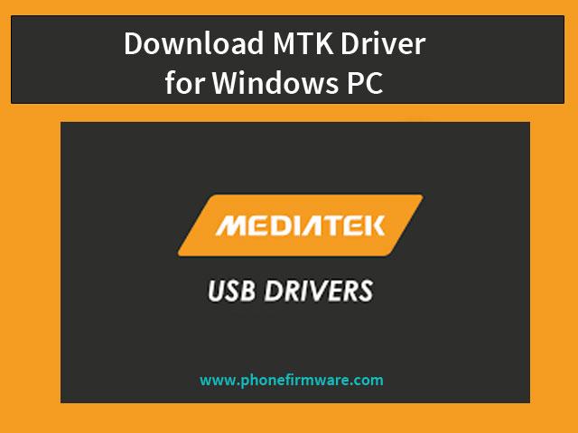 mtk driver download
