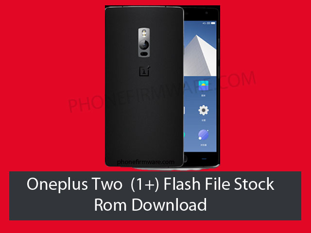 oneplus two flash file